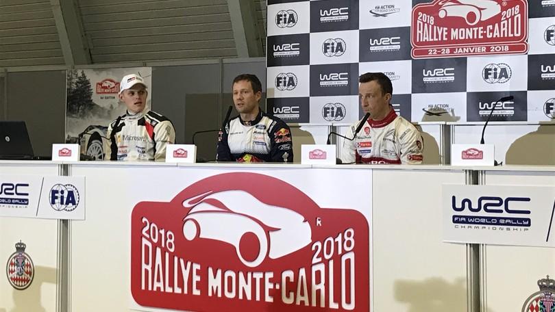 Wrc Rally Montecarlo: Sainz Junior alla guida di una Megane