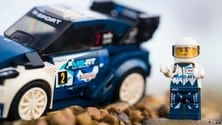 Lego omaggia Ogier e Ford Fiesta WRC