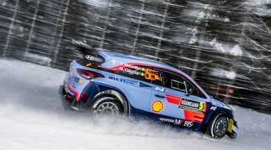 Rally di Svezia, tripletta Hyundai nella prima tappa