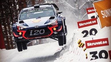 Rally di Svezia, Neuville ipoteca la corona di Re delle nevi