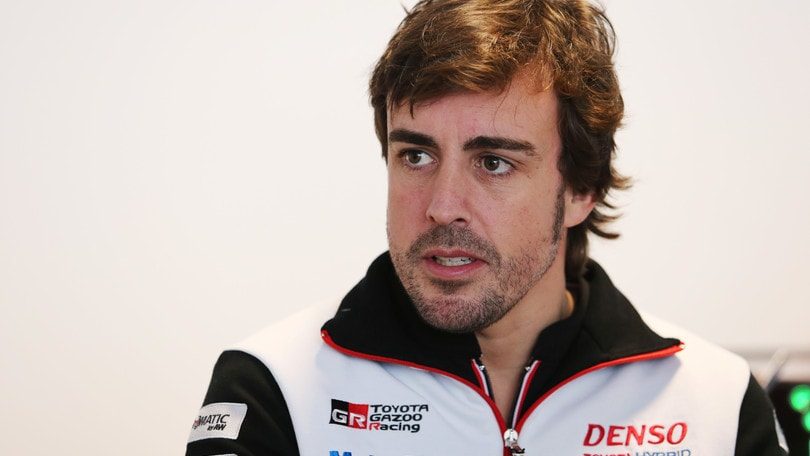 Wec, Alonso in pista con Toyota