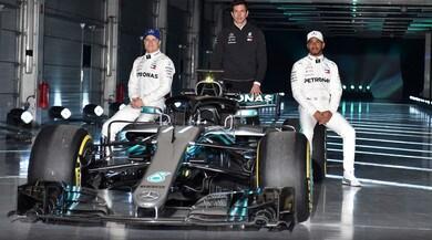 Mercedes, Wolff e Hamilton mostrano i muscoli: la W09 è ancora più forte