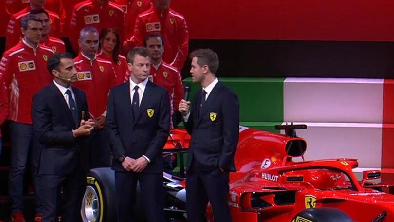 Ferrari SF71H, Raikkonen e Vettel: passo lungo e passo in avanti
