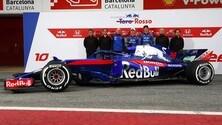 Toro Rosso STR13 si svela a Barcellona: foto
