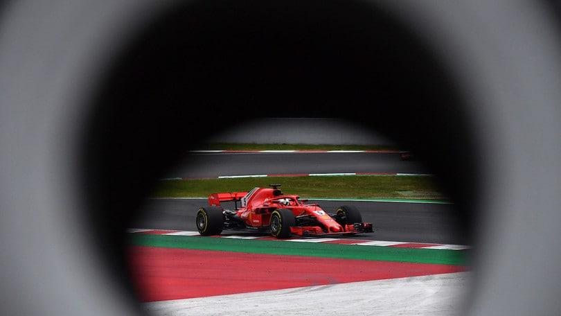 F1, miglior tempo di Vettel nei test a Montmelò