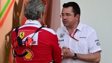 Mekies-Ferrari, il disappunto McLaren