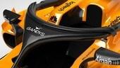 McLaren, l'Halo sponsorizzato dal marchio di infradito