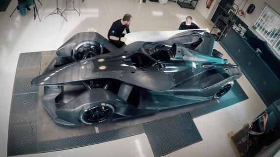 Formula E, la nascita della Nissan Gen2