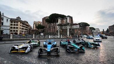 Formula E, Roma accoglie i gladiatori elettrici