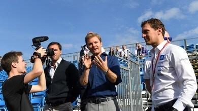Formula E: Rosberg in pista a Berlino, piloti ricevuti dal Papa