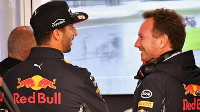 Formula 1, Red Bull: Horner corteggia Ricciardo
