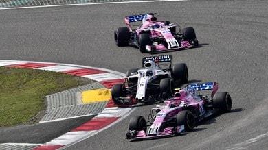 Formula 1, realismo Force India: obiettivo sesto posto tra i costruttori