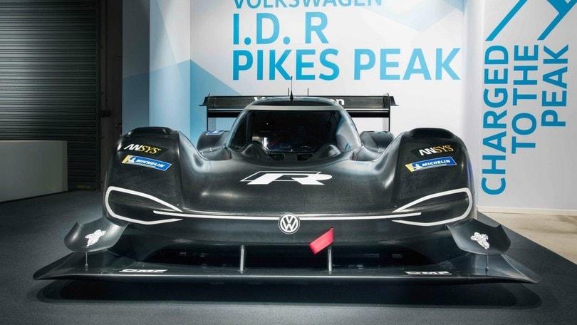 Volkswagen I.D. R Pikes Peak, arrampicatrice elettrica