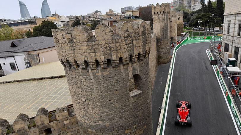 F1: la Ferrari vola, Vettel in pole in Azerbaigian