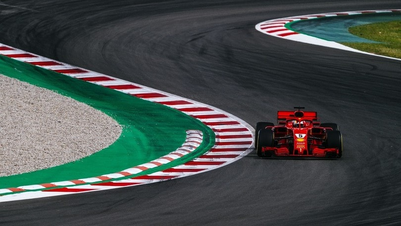 Test Formula 1 Spagna, Vettel fuga ogni dubbio sulle gomme