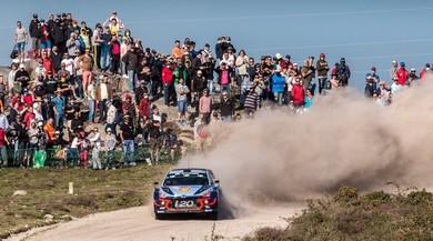 Rally Portogallo, Neuville leader dopo una prima tappa equilibrata