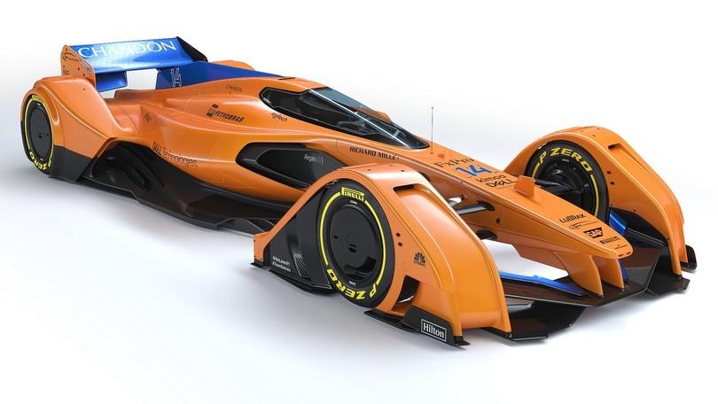 McLaren X2, sguardo al futuro