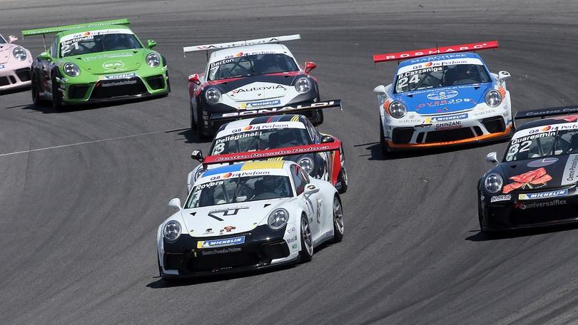 Porsche Carrera Cup, Rovera dominatore a Misano