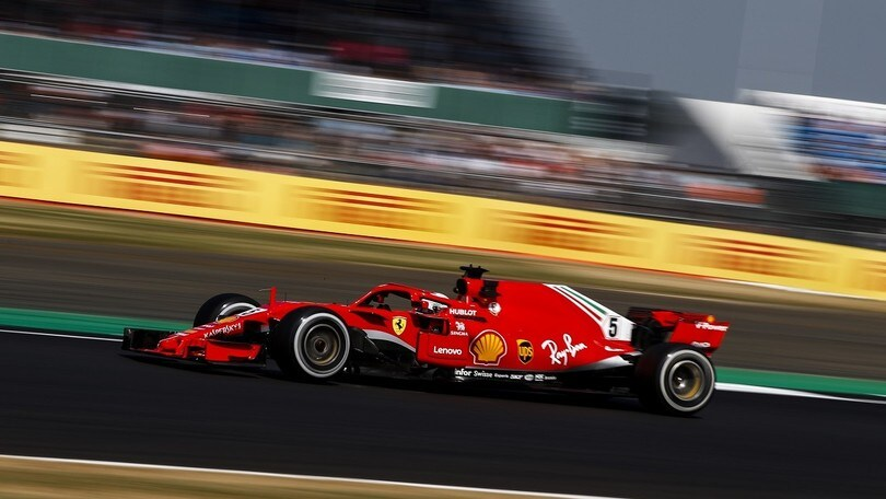 Ferrari sbanca Silverstone: vince Vettel