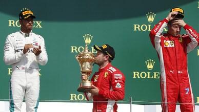 Formula 1 Silverstone: vince Vettel, sul podio Hamilton e Raikkonen