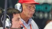 Niki Lauda operato ai polmoni: è in condizioni molto gravi
