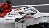 Formula 1 Monza, spaventoso incidente per Ericsson nelle FP2: foto