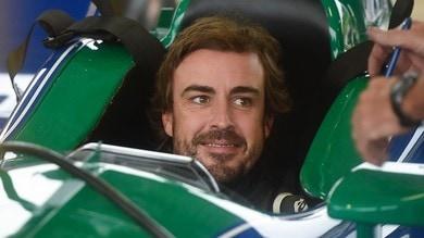 Alonso, prove di Indycar 2019 a Barber Park