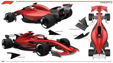 Brawn presenta la Formula 1 del futuro: foto