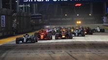 Formula 1 Singapore, la gara: foto
