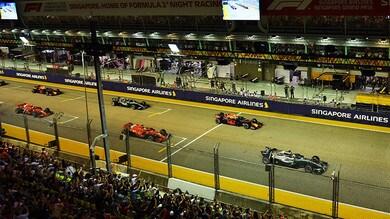 Formula 1 Singapore, analisi gara: Hamilton allunga