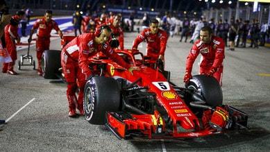 Singapore, com'è nata la strategia sbagliata della Ferrari