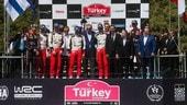 Rally Turchia, doppio colpo Tanak: vince e vede il mondiale