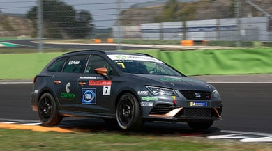 SEAT Leon ST Cup: weekend 'familiare' a Vallelunga