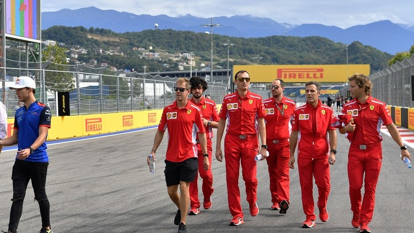 F1 Gp Russia, Vettel: