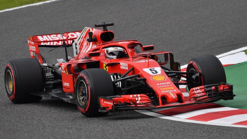 F1, Gran Premio del Giappone: pole di Hamilton