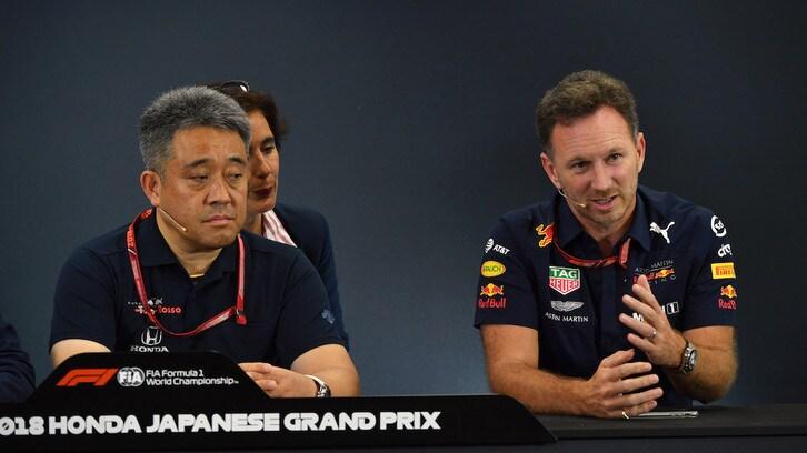 Formula 1, l'Honda positiva incoraggia Horner