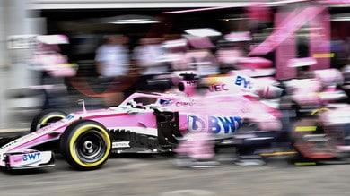 Formula 1, gomme: Force India rilancia l'idea del liberi tutti