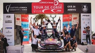 Calendario Mondiale Rally 2019: 14 tappe, torna ilTour de Corse