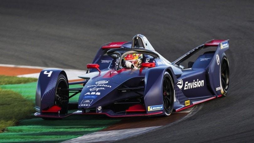 Formula E, prima giornata di test a Valencia: foto