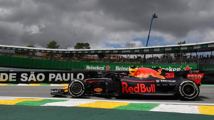 F1, Brasile: Verstappen guida le prime libere, Vettel secondo