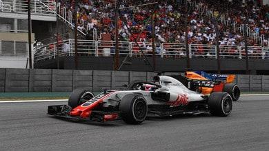 Formula 1: Haas quinta e felice, errori e protesta premiano Renault