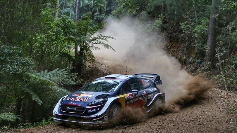 Ogier il più veloce nello shakedown al Rally di Australia