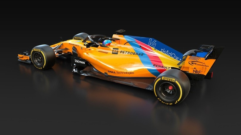 McLaren MCL33 livrea celebrativa Alonso: foto