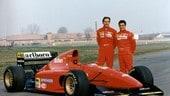 """Alesi e Berger, """"legend"""" in rosso"""