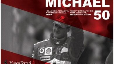 """""""Michael 50"""", Ferrari dedica una mostra a Schumacher"""