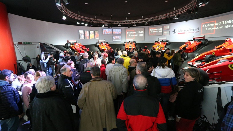 Michael 50: inaugurata al mostra al Museo Ferrari