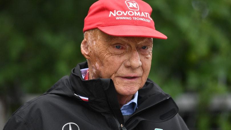 Niki Lauda nuovamente in terapia intensiva