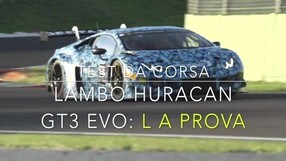 Lamborghini Huracan GT3 EVO: La Prova