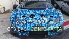 Lamborghini Huracan GT3 EVO: come è fatta