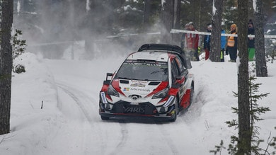 Rally Svezia 2019, Gronholm al volante della Yaris